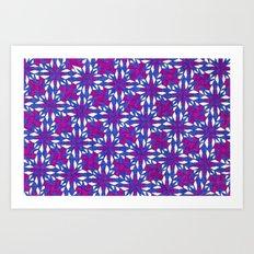 Purple Riot Art Print
