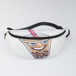 Bubble Tea Boba Drink Milk Drinking Cute Ball Gift Fanny Pack