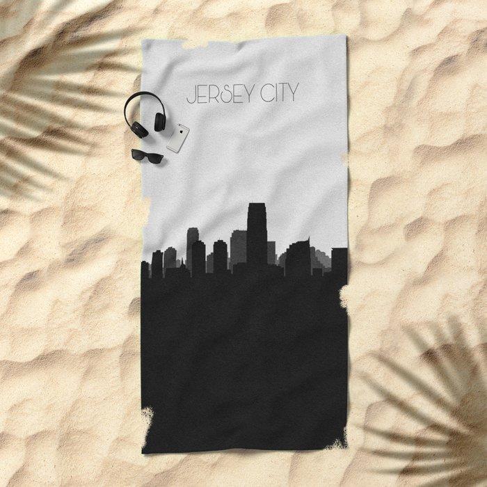 City Skylines: Jersey City Beach Towel