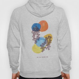6 // Abstract 9 March 2017 | Abstract Shapes Art Colour Hoody
