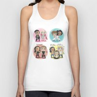 cyrilliart Tank Tops featuring Adventures of 1D & LM by Cyrilliart