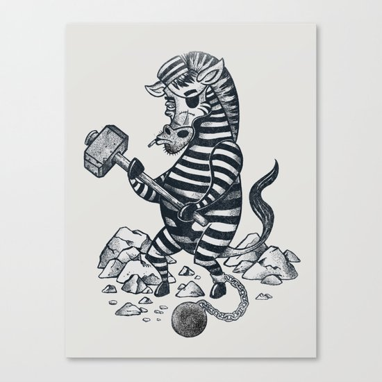 Natures Prisoner Canvas Print