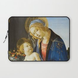 Botticelli  -  The Virgin And Child The Madonna Of The Book Laptop Sleeve