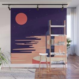Moonlight + Wine Wall Mural