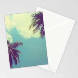 Double Palm Tree Stationery Cards