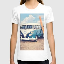 Vintage Beach Bus T-shirt