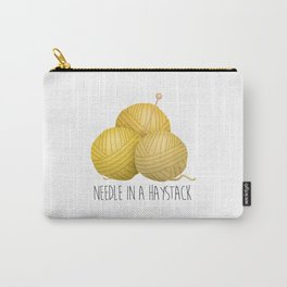 Needle In A Haystack Carry-All Pouch