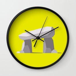 Dolmen (western portal) Wall Clock