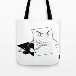 Paper Cut Tote Bag