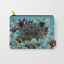 The Tiger and the Flower Carry-All Pouch