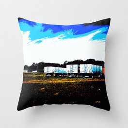 Bins 7817 Throw Pillow