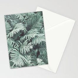 Fern Patten Turquoise Texture Stationery Cards