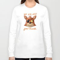 fnaf Long Sleeve T-shirts featuring FNAF Foxy by Bloo McDoodle