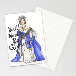 Queen of Glamour Stationery Cards
