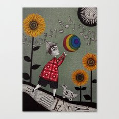 Henry's Rainbow Canvas Print