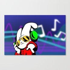 Dj Bunny Canvas Print