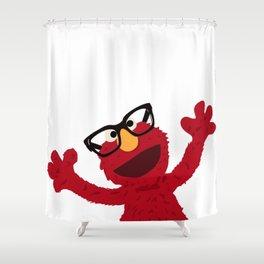 Hipster Elmo Shower Curtain