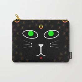 Dark Night with dark cats Carry-All Pouch