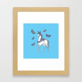 Cute Unicorn Framed Art Print