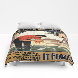 Vintage poster - Soap Comforters