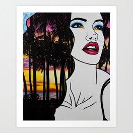 Tropical Punch Art Print