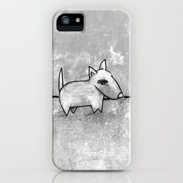 Dog No.1r by Kathy Morton Stanion iPhone Case