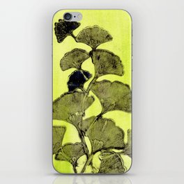 Ginkgo in Spring iPhone Skin