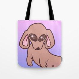 Sweet Sugar Weenie Dog Tote Bag