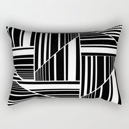 STRIPED PATCHWORK Rectangular Pillow