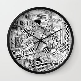 LA DIMENSIÓN DE CALABI-YAU O UNA TARDE EN EL BELLAGIO Wall Clock