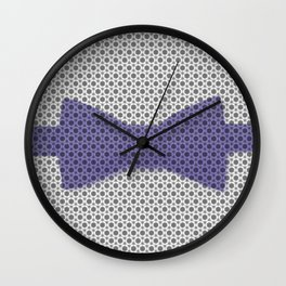 bow tie Wall Clock