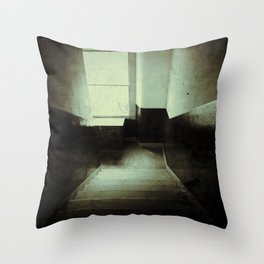 Grunge close Throw Pillow