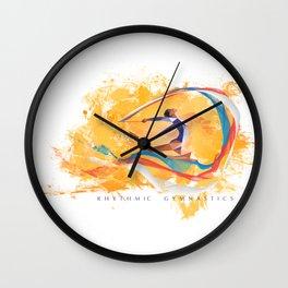 Rhythmic gymnastics Wall Clock