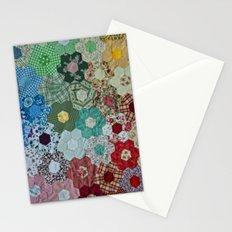 patchwork-design Stationery Cards