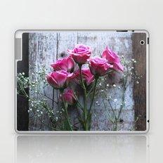 Rustic Pink Roses Laptop & iPad Skin