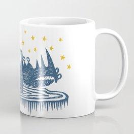 rhinoceros stares into the stars Coffee Mug