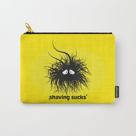 SHAVING SUCKS Carry-All Pouch