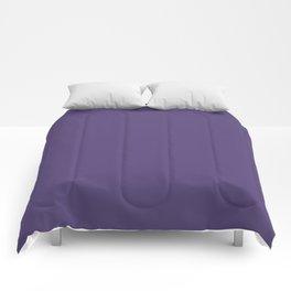 Gentian Violet Color Accent Comforters