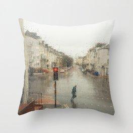 April Showers Throw Pillow