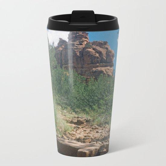 Red Rocks Arizona Metal Travel Mug
