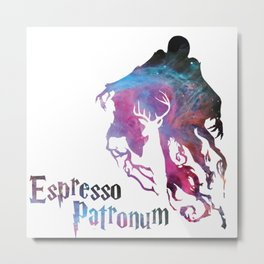 espresso patronum harry Metal Print