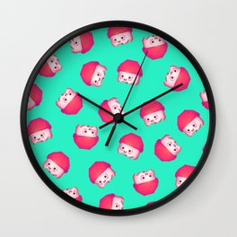 Champ pattern Wall Clock