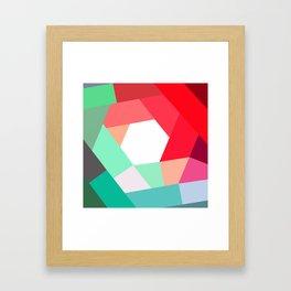 KOLOR crazy magenta Framed Art Print