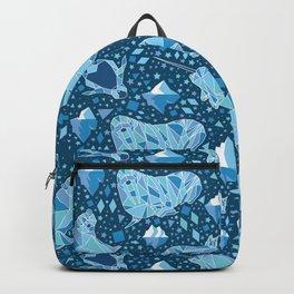 Arctic Geometric Animals Backpack