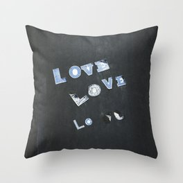 Love Love Lo Throw Pillow