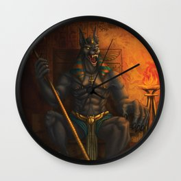 Anubis: Lord of the Dead Wall Clock
