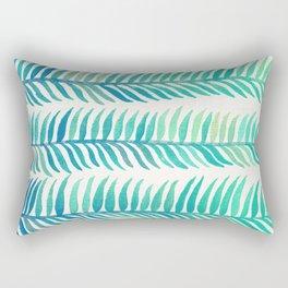 Seafoam Seaweed Rectangular Pillow