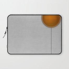 Orange Faced Balloon Laptop Sleeve