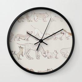 Buttsniff Wall Clock