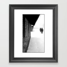 A Pause Framed Art Print